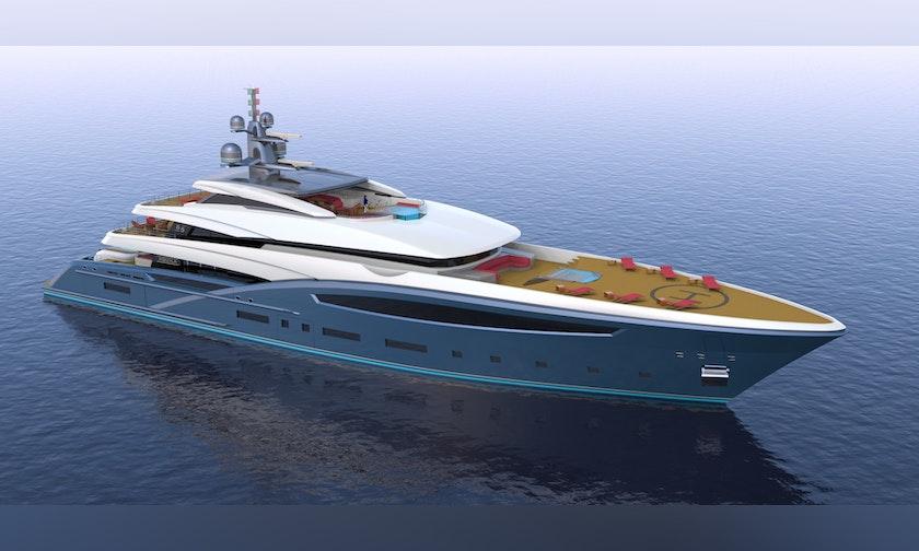 213′ Custom Hull #1 CUSTOM 65M