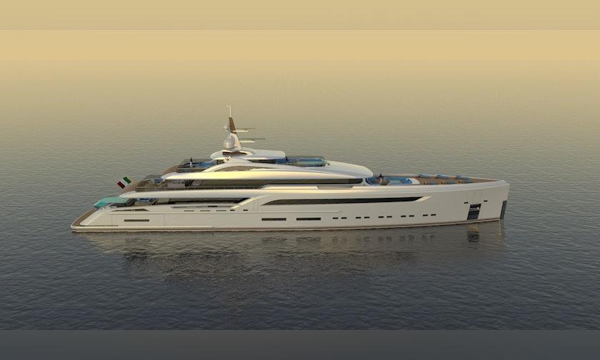 230′ Custom Preferred Builder – Fincantieri Yachts PLATINUM X
