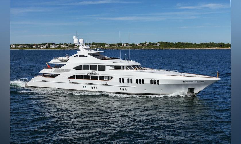 164′ Trinity Yachts  ASPEN ALTERNATIVE For Charter