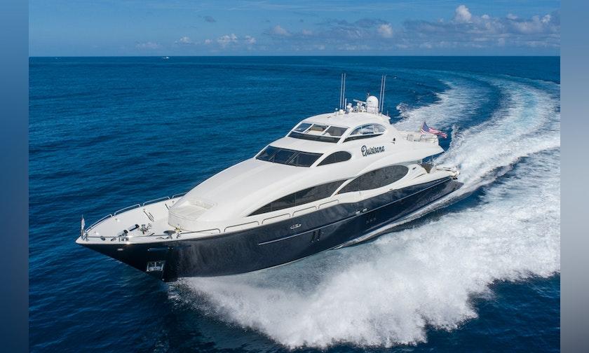 116′ Lazzara Yachts OPEN BRIDGE Quisisana