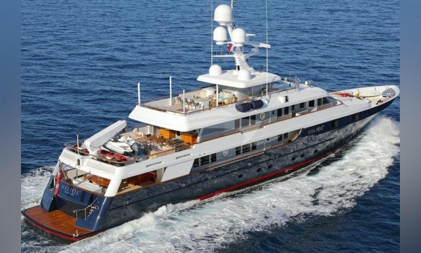 168′ Palmer Johnson Superyacht HELIOS 2 For Charter