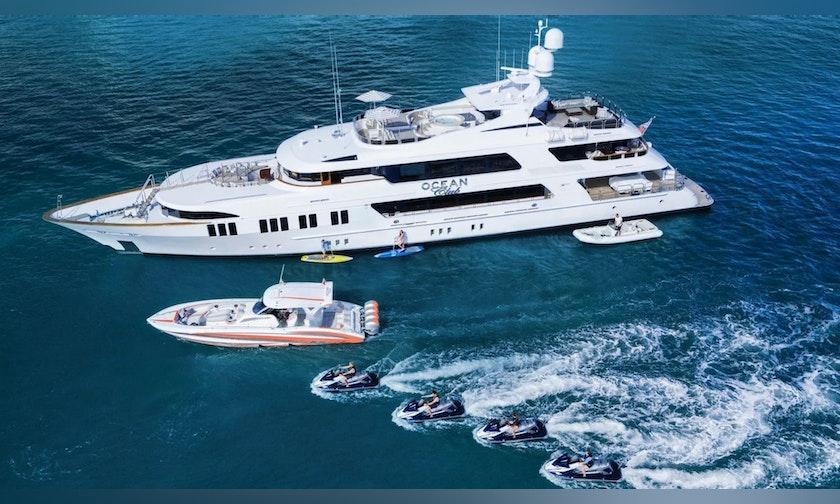 164′ Trinity Yachts  OCEAN CLUB For Charter