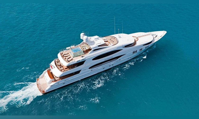164′ Trinity Yachts  IMPROMPTU For Charter