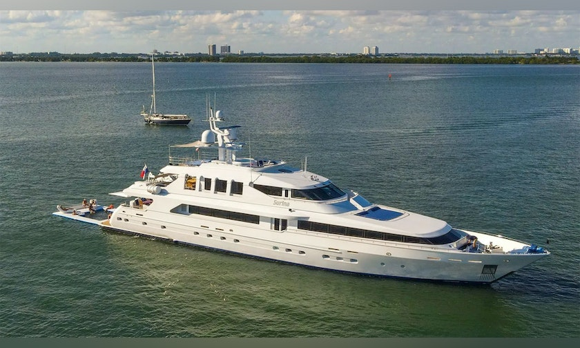 147′ Trident  SURINA For Charter