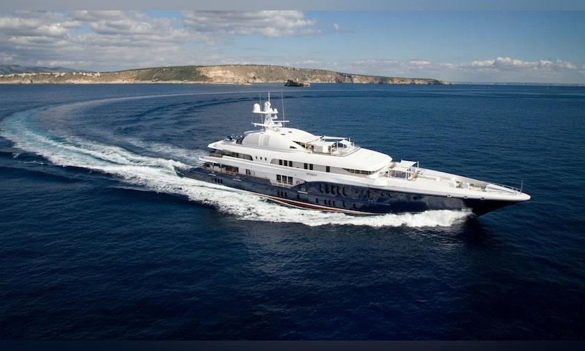 224′ Nobiskrug Mega Yacht SYCARA V For Charter