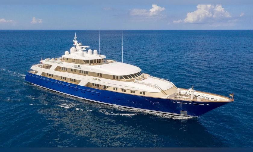 240′ Delta Marine  LAUREL For Charter