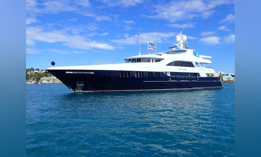157′ Trinity Yachts Tri-Deck MY NEVER ENOUGH For Charter